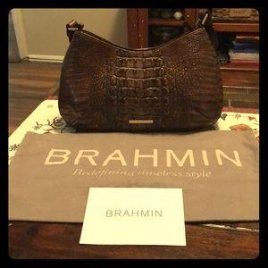 Brahmin - Cayson Shoulder (Fall Tortoise)